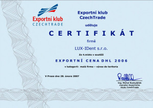 certifikat-Exportni-klub-CzechTrade