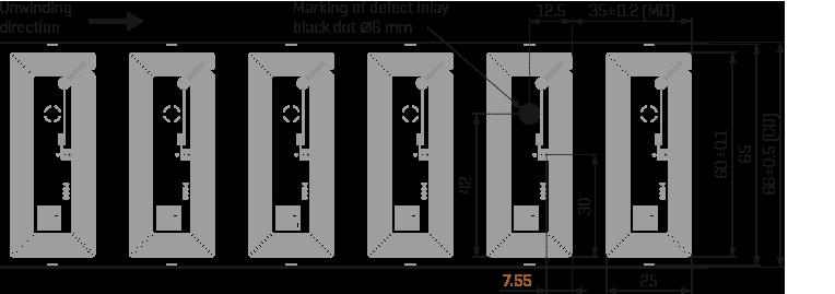 HF-inlay 60x25 Al drawing