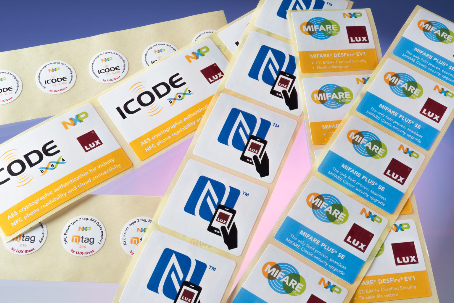 HF & NFC and UHF Labels - LUX-IDent s r o  - the leading RFID